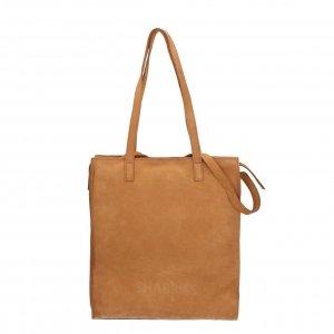 Shabbies Amsterdam Shopper L Nubuck Leather brown Damestas