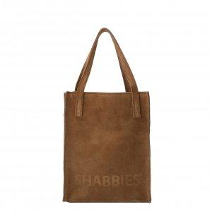 Shabbies Amsterdam Shopper XS Suede brown Damestas