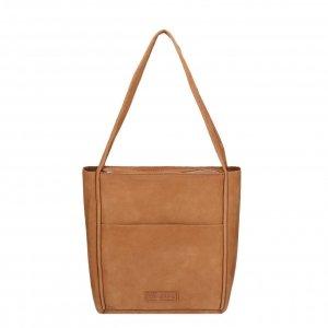 Shabbies Amsterdam Shoulderbag M Nubuck Leather brown Damestas