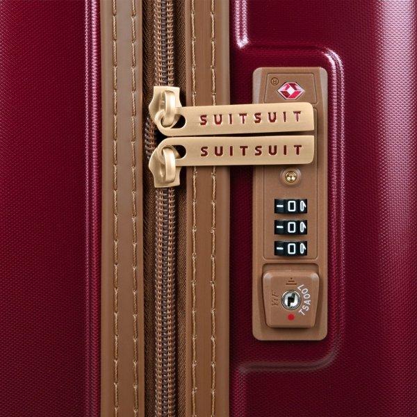 SuitSuit Fab Seventies Classic Handbagage Trolley 55 cm biking red Harde Koffer van Polycarbonaat