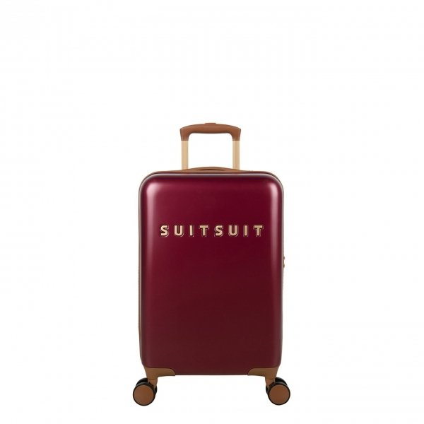 SuitSuit Fab Seventies Classic Handbagage Trolley 55 cm biking red Harde Koffer