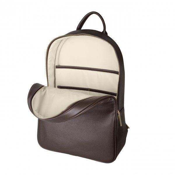 SuitSuit Fab Seventies Classic Rugtas espresso black backpack van PU
