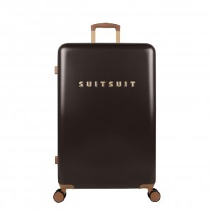 SuitSuit Fab Seventies Classic Trolley 76 cm espresso black Harde Koffer