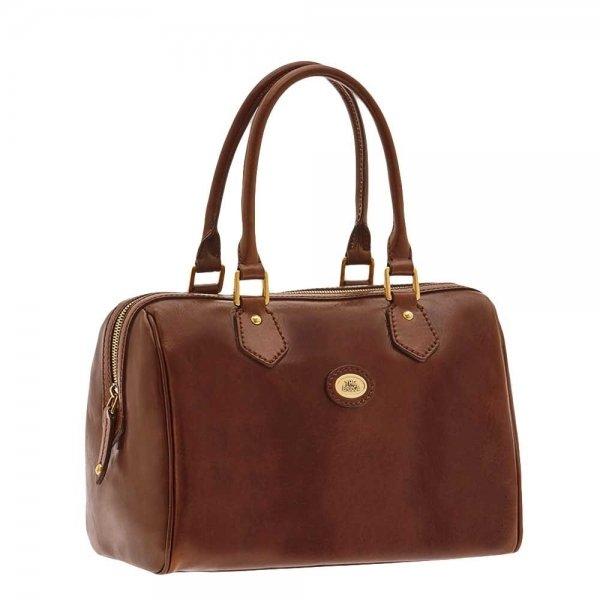 The Bridge Story Donna Ladies Barrel Handbag brown Damestas