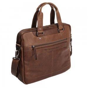"""The Chesterfield Brand Jovi Laptoptas 14"""" brown"""