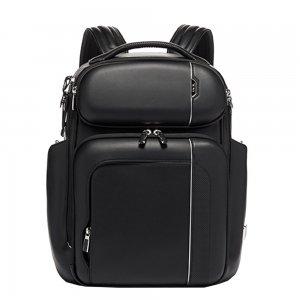 Tumi Arrivé Barker Backpack Leather black backpack