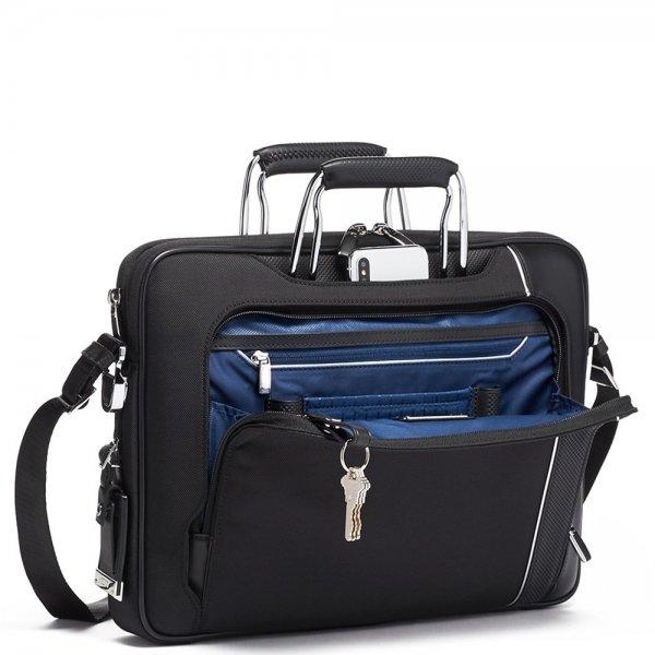 Tumi Arrivé Hannover Slim Briefcase black van Polyester
