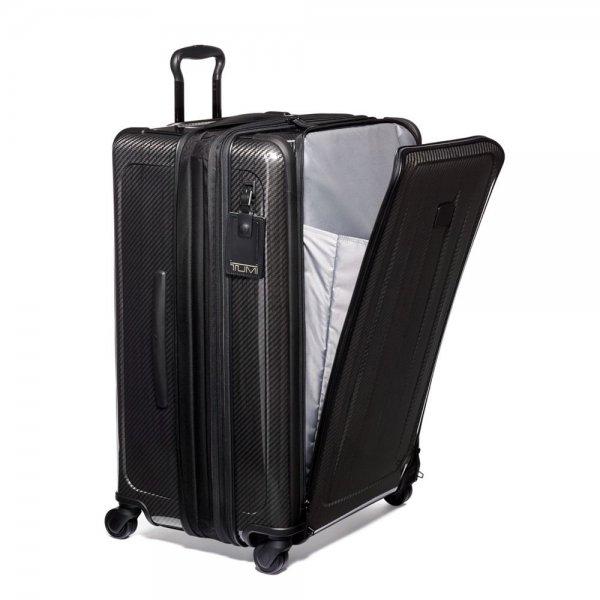 Tumi Tegra-Lite Max Large Trip Expandable Packing Case black graphite Harde Koffer van Tegris