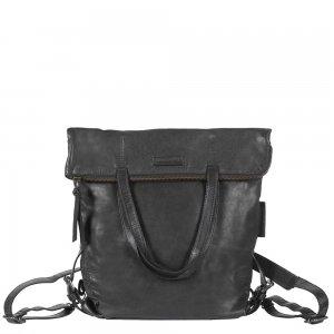 Aunts & Uncles Jamie's Orchard Pomelo Backpack / Crossover Bag jet black backpack