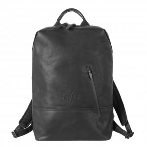 """Aunts & Uncles Japan Hamamatsu Backpack with Notebook Compartment 13"""" black backpack"""