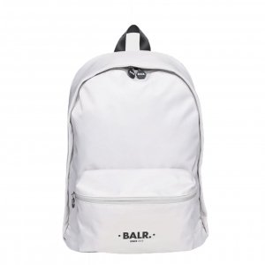 Balr. U-Series Water Resistant Nylon Backpack light stone