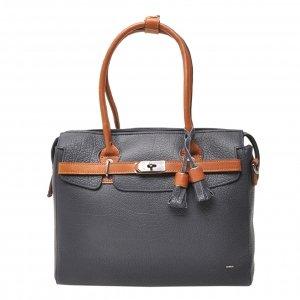 Berba Chamonix Ladies Hand Bag navy Damestas