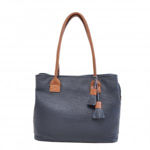 Berba Chamonix Shopper Ladies Bag navy Damestas
