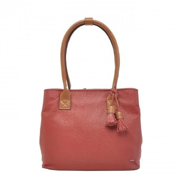 Berba Chamonix Shopper Ladies Bag red Damestas