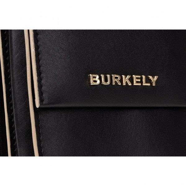 Burkely Parisian Paige Backpack black Damestas van Leer
