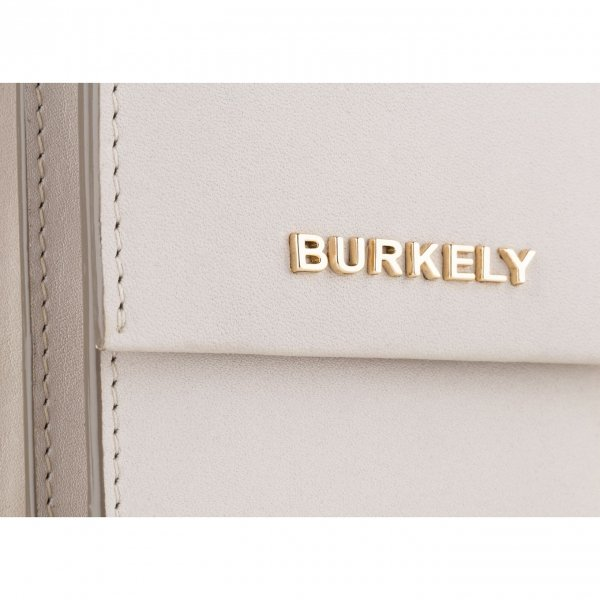 Burkely Parisian Paige Citybag Round off white Damestas van Leer