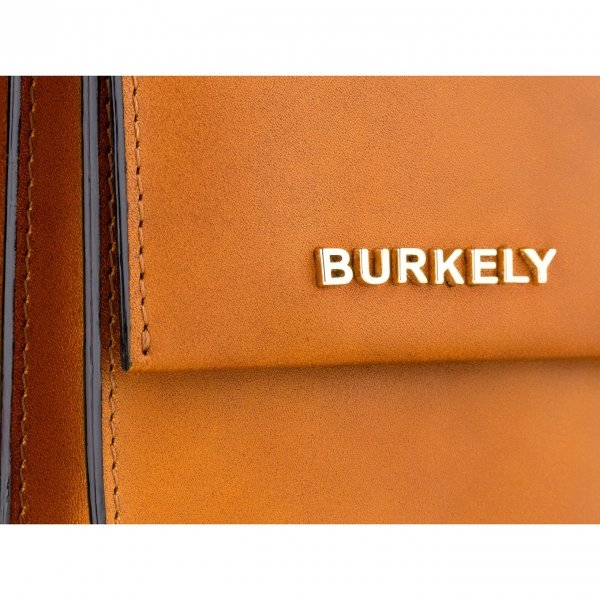 Burkely Parisian Paige Handbag S beige Damestas van Leer