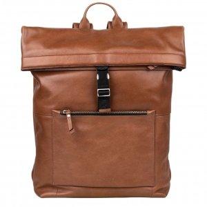 "Burkely Suburb Seth Backpack Rolltop 15.6"" cognac backpack"