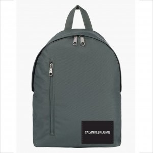 Calvin Klein Jeans Round Backpack duck green