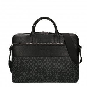 Calvin Klein Laptopbag black mono mix