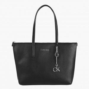 Calvin Klein Shopper MD CK black Damestas