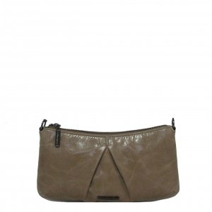 Claudio Ferrici Pelle Vecchia Eveningbag pale brown Damestas