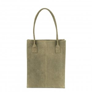 DSTRCT Portland Road Shopper khaki Damestas