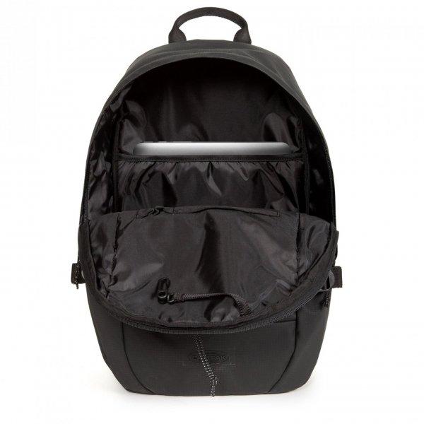 Eastpak Borys Rugzak surfaced black backpack van Nylon