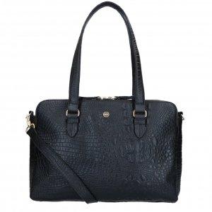FMME. Charlotte 15.6 Workingbag Croco black