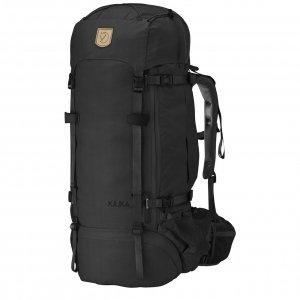 Fjallraven Kajka 75 black backpack