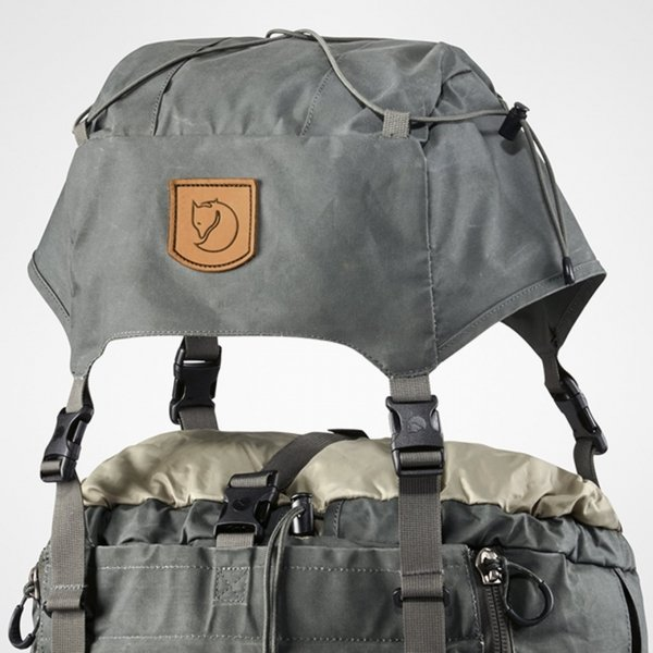 Fjallraven Kajka 75 black backpack van Polyester