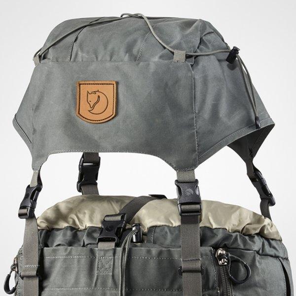 Fjallraven Kajka 75 graphite backpack van Polyester