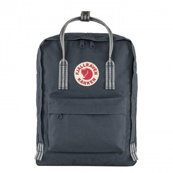 Fjallraven Kanken Rugzak navy/long stripes backpack