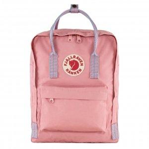 Fjallraven Kanken Rugzak pink/long stripes backpack