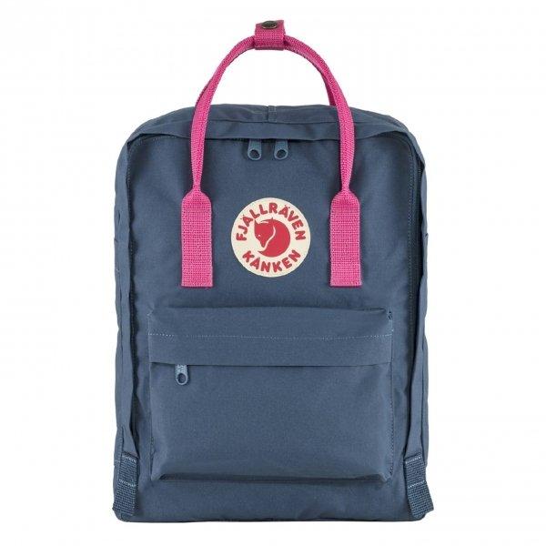 Fjallraven Kanken Rugzak royal blue/flamingo pink backpack