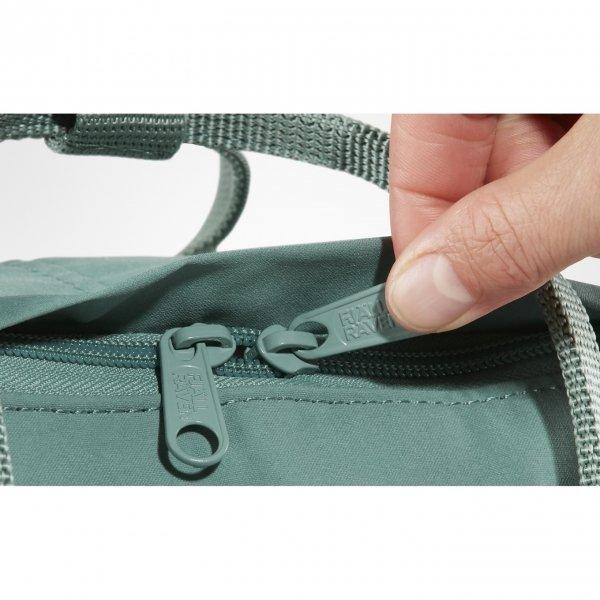 Fjallraven Kanken Rugzak spruce green/gray backpack van Vinylon