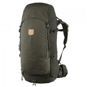 Fjallraven Keb 52 olive-deep forest backpack