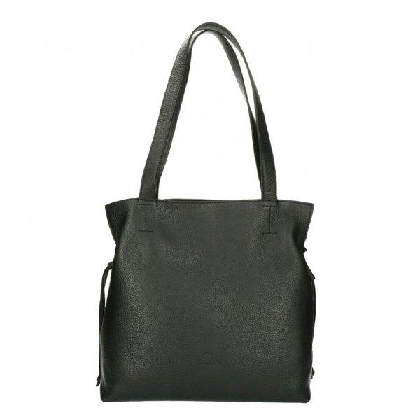 Fred de la Bretoniere Shoulderbag M Soft Grain Leather black Damestas