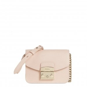 Furla Metropolis Mini Crossbody candy rose Damestas