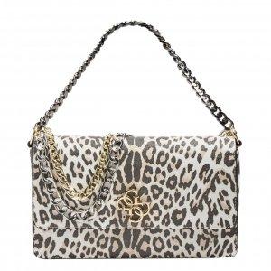 Guess Luna Lrg Convertible Xbody Flap leopard Damestas