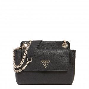 Guess Sandrine Convertible Crossbody black Damestas