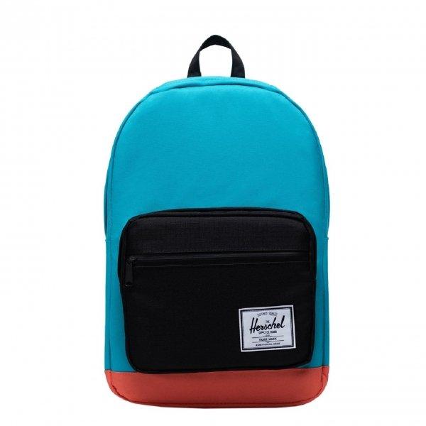 Herschel Supply Co. Pop Quiz Rugzakblue bird/black/emberglow backpack