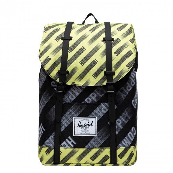 Herschel Supply Co. Retreat Rugzak hsc motion black/highlight backpack
