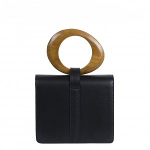 Inyati Abbey Top Handle Bag black Damestas