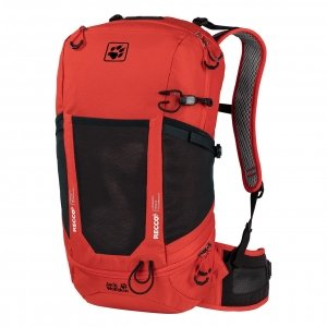 Jack Wolfskin Kingston 22 Pack Recco lava red backpack