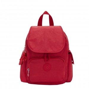 Kipling City Pack Mini Rugzak red rouge