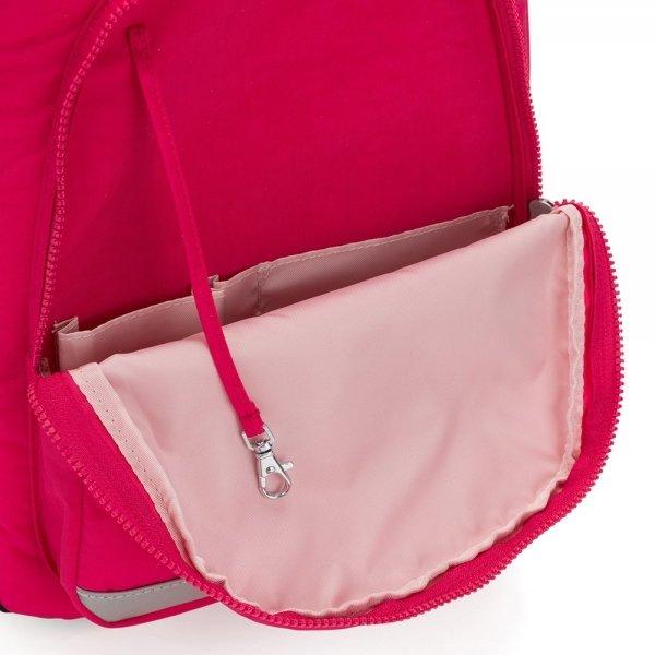Kipling Class Room Rugzak true pink backpack van Polyester