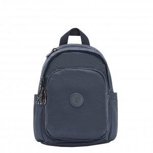Kipling Delia Mini Rugzak grey slate t backpack