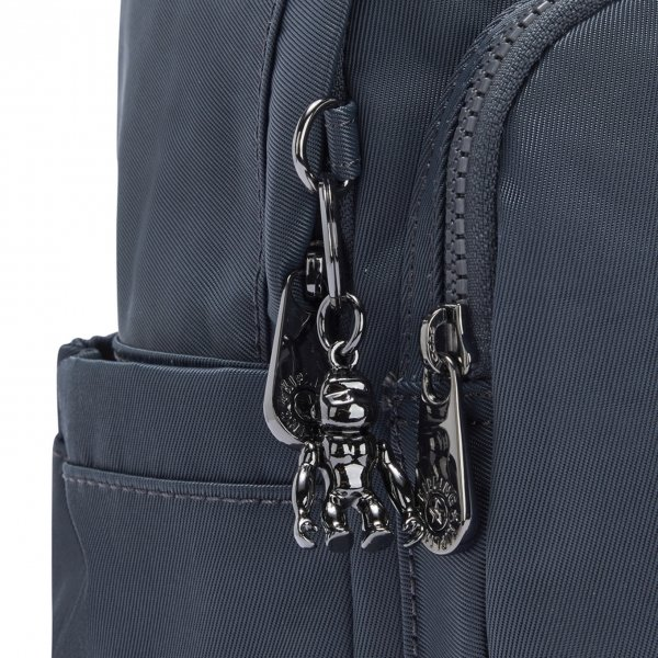 Kipling Delia Mini Rugzak grey slate t backpack van Polyester