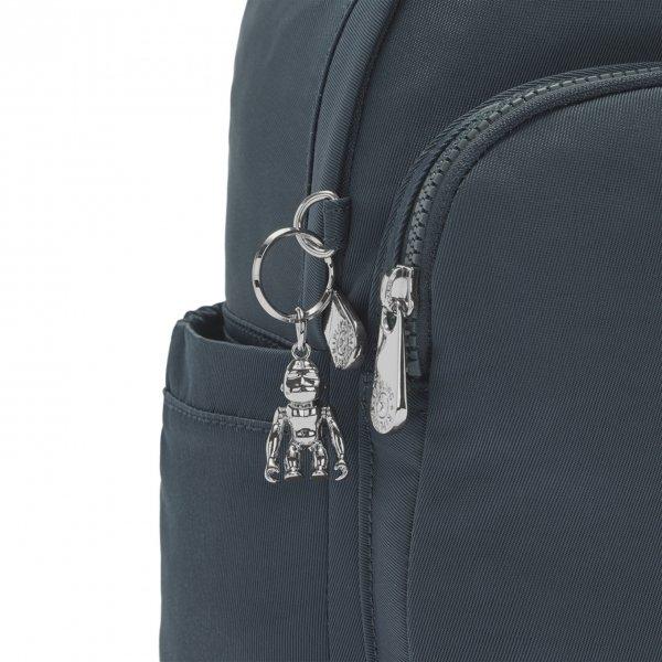 Kipling Delia Mini Rugzak rich blue backpack van Polyester